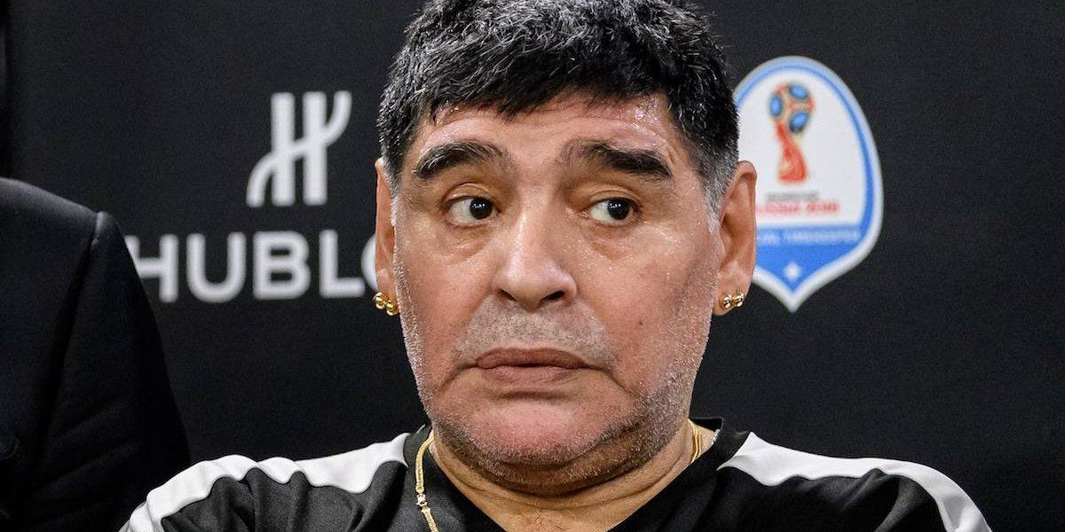 Jeques amenazan a Maradona y se perderá la boda de su hija