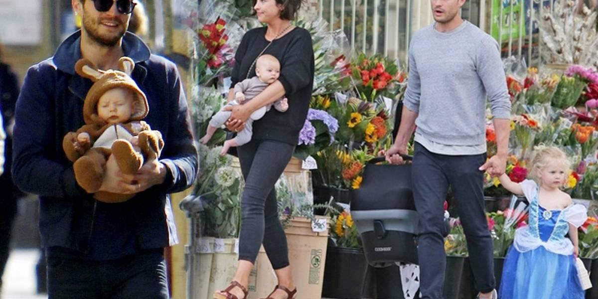 """Conoce a las hijas de Jamie Dornan el protagonista de """"50 Shades of Grey"""""""