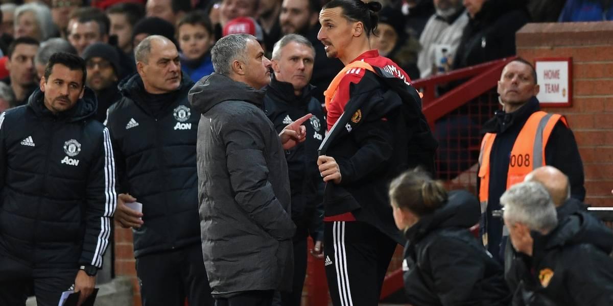 Así lamentó Mourinho que Zlatan se fuera al Galaxy de la MLS