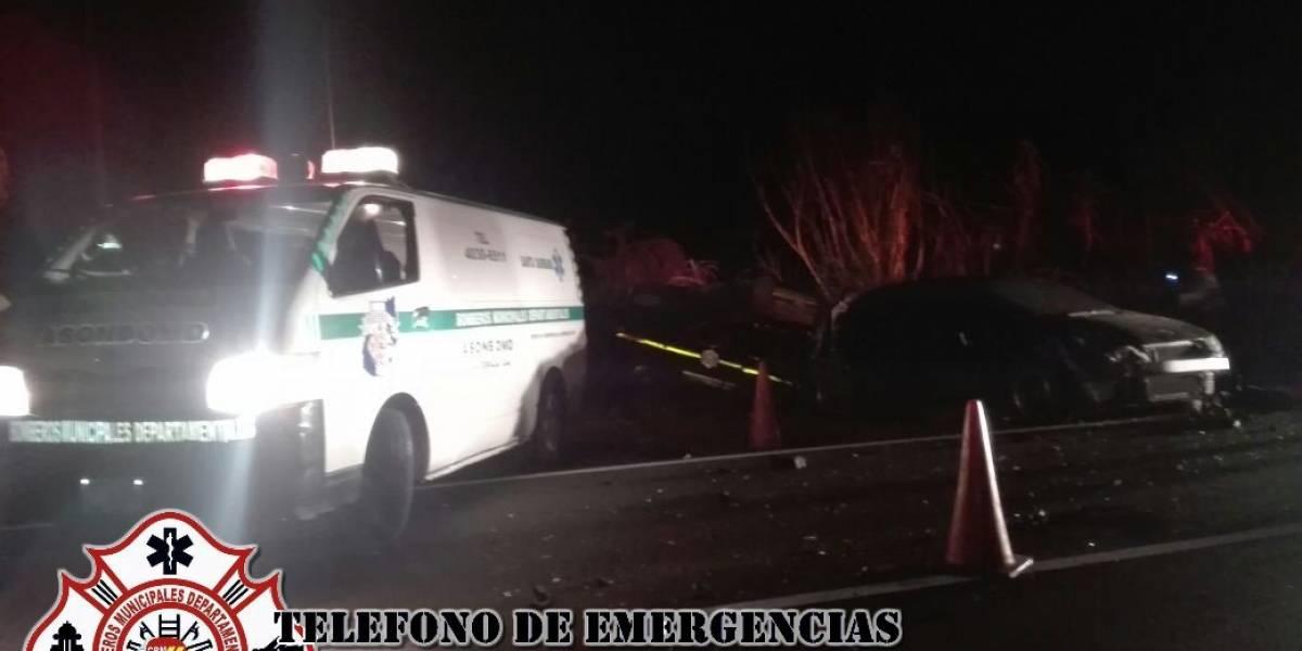 Agente de PNC fallece tras accidente de tránsito en ruta al Pacífico