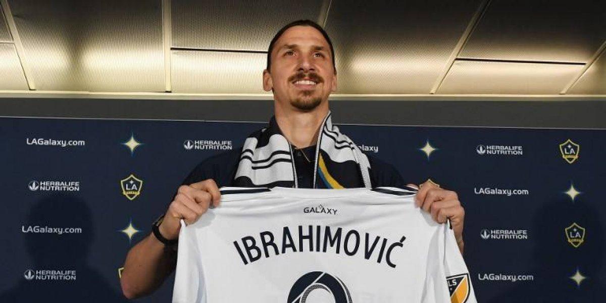 FOTOS. Así fue la presentación de Zlatan Ibrahimović con el Galaxy