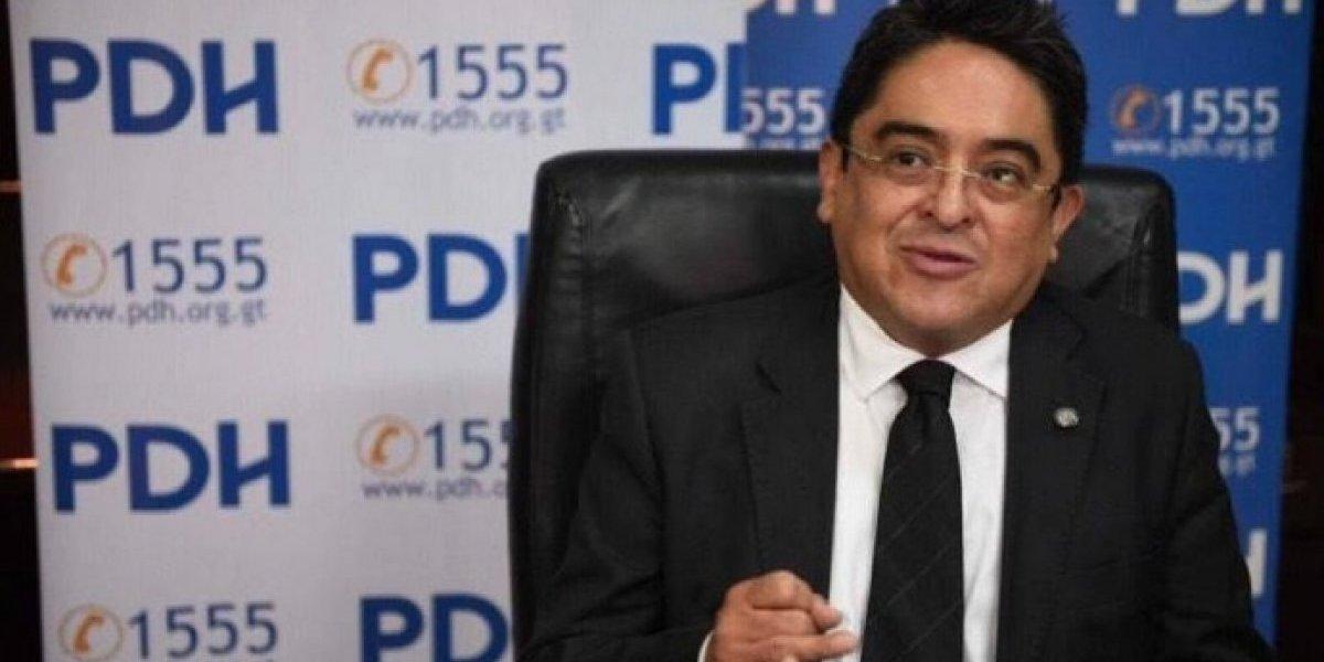 Rodas se pronuncia por resolución que lo mantiene al frente de la PDH