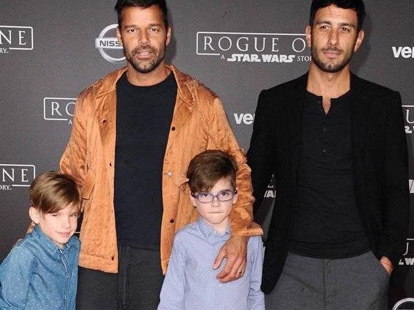 Ricky Martin, Jwan Yosef, Redes Sociales,