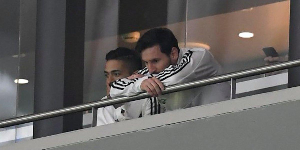 Técnico del Barcelona se muestra preocupado por Lionel Messi