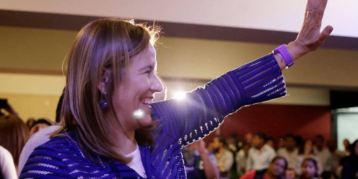 Zavala arranca campaña; llama a derrotar maquinaria de partidos