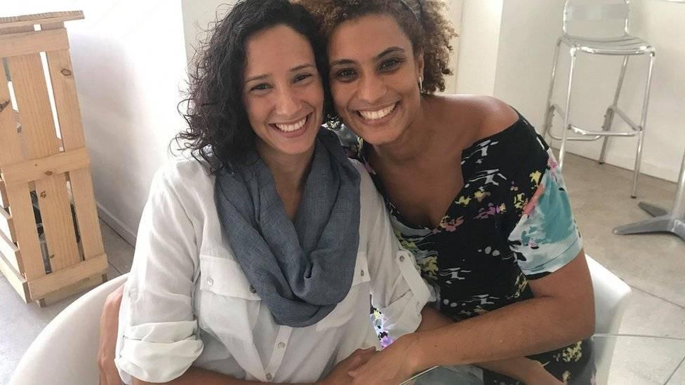 Monica Benicio e Marielle Franco