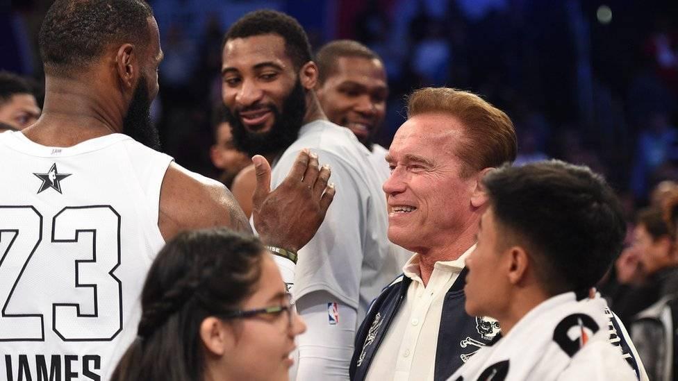 Arnold Schwarzenegger fue intervenido del corazón por primera vez en 1997. Getty Images