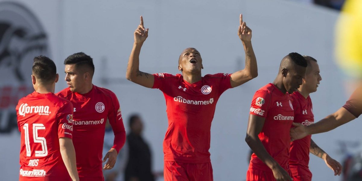 Luis Quiñones pone como líder al Toluca en la Liga MX