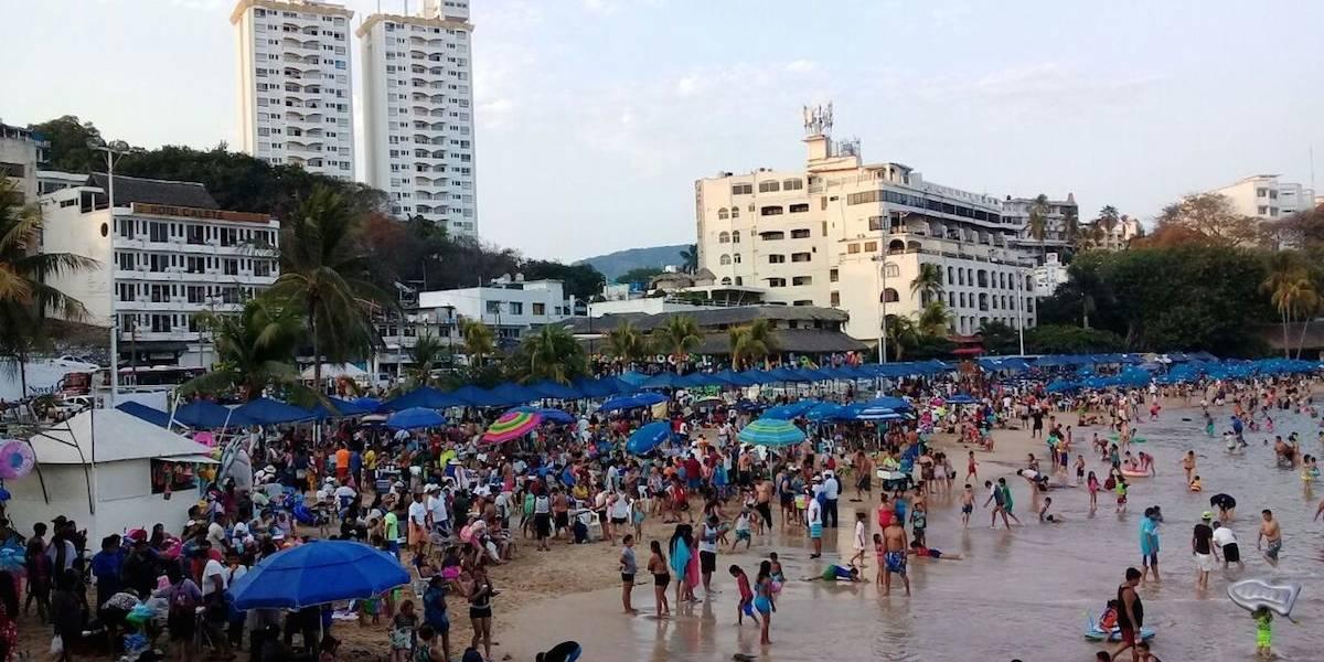 Acapulco, Zihuatanejo y Taxco registran 95.6% de ocupación hotelera