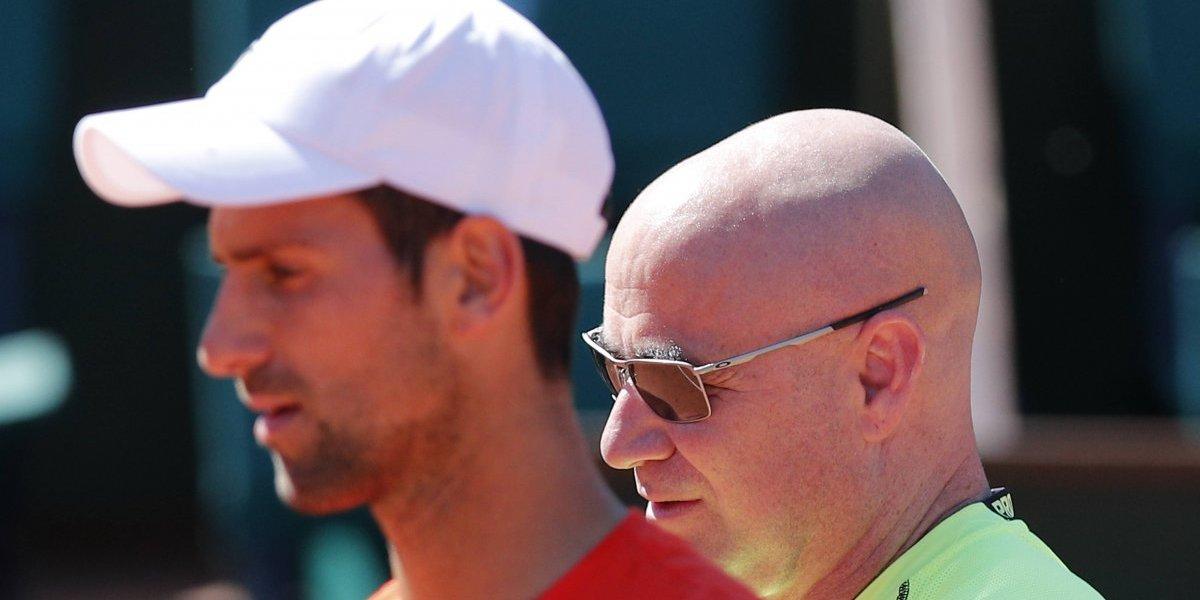 """Agassi deja de entrenar a Djokovic: """"Hubo demasiadas diferencias de criterio"""""""