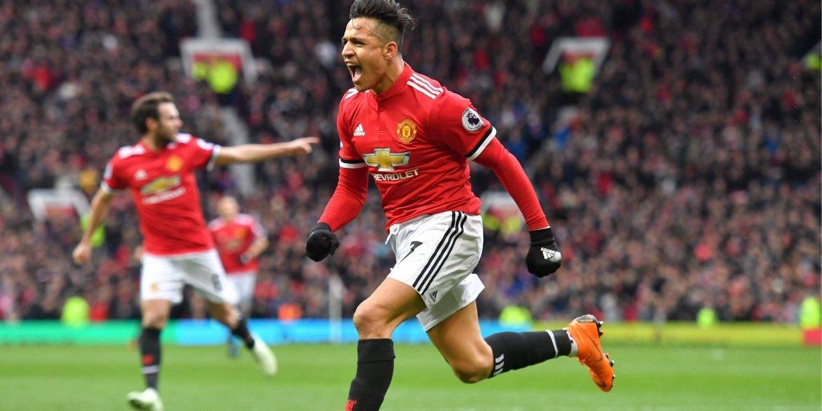 """""""Alexis brillante"""": El chileno dio vuelta a la prensa inglesa tras """"su mejor partido con el United"""""""