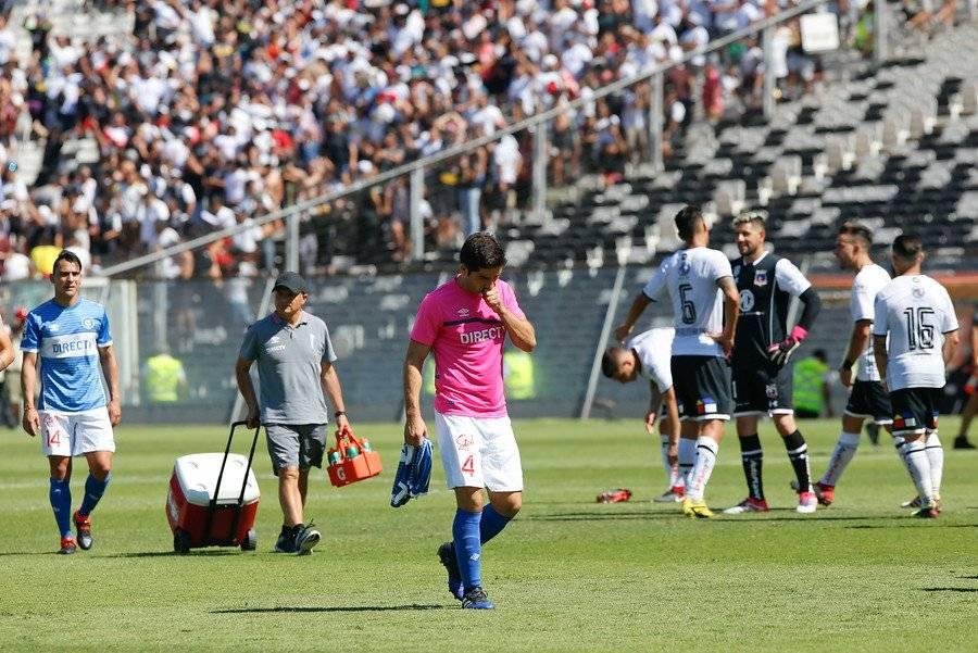 Álvarez sigue sin jugar en la UC / Foto: Agencia UNO