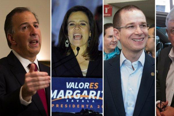 Candidatos a la presidencia en México