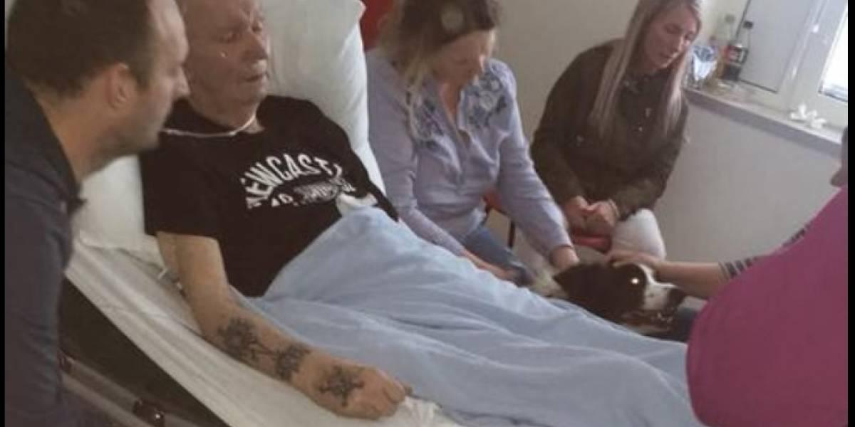 VIDEO. Enfermeras le conceden su último deseo a un hombre moribundo y esto pide