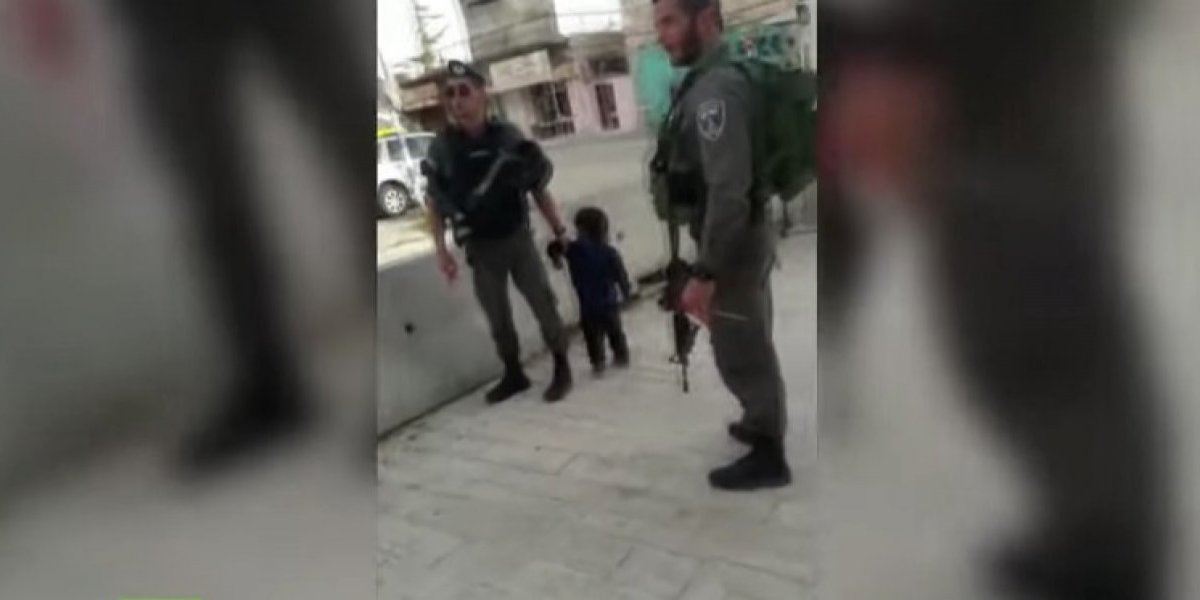 Guardias israelitas detienen a niño de tres años