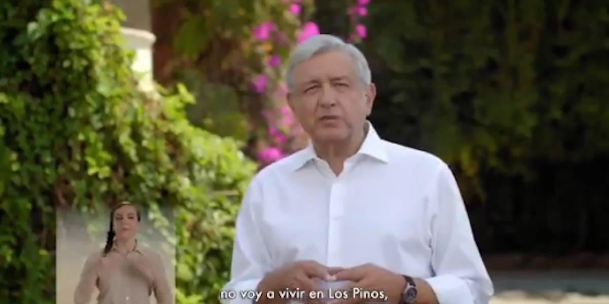 Este es el primer spot de la campaña de López Obrador
