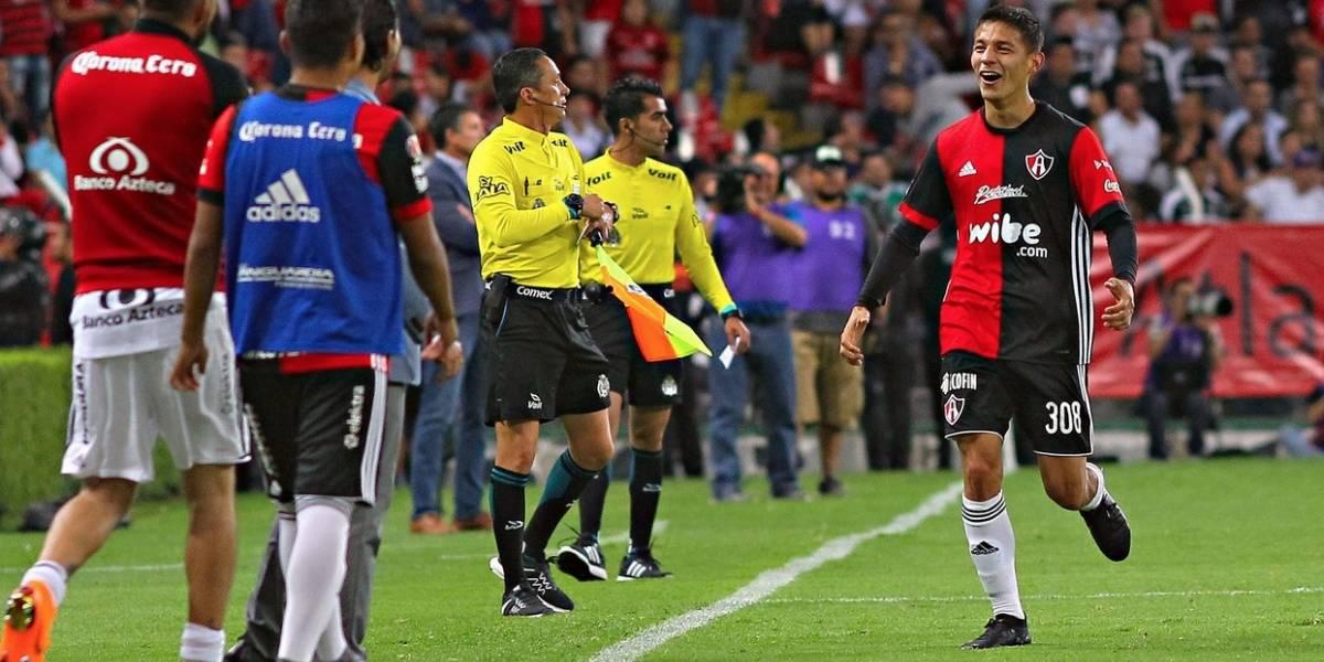 Liga MX: Atlas de Henríquez y Toselli volvió a los triunfos frente al puntero Santos Laguna