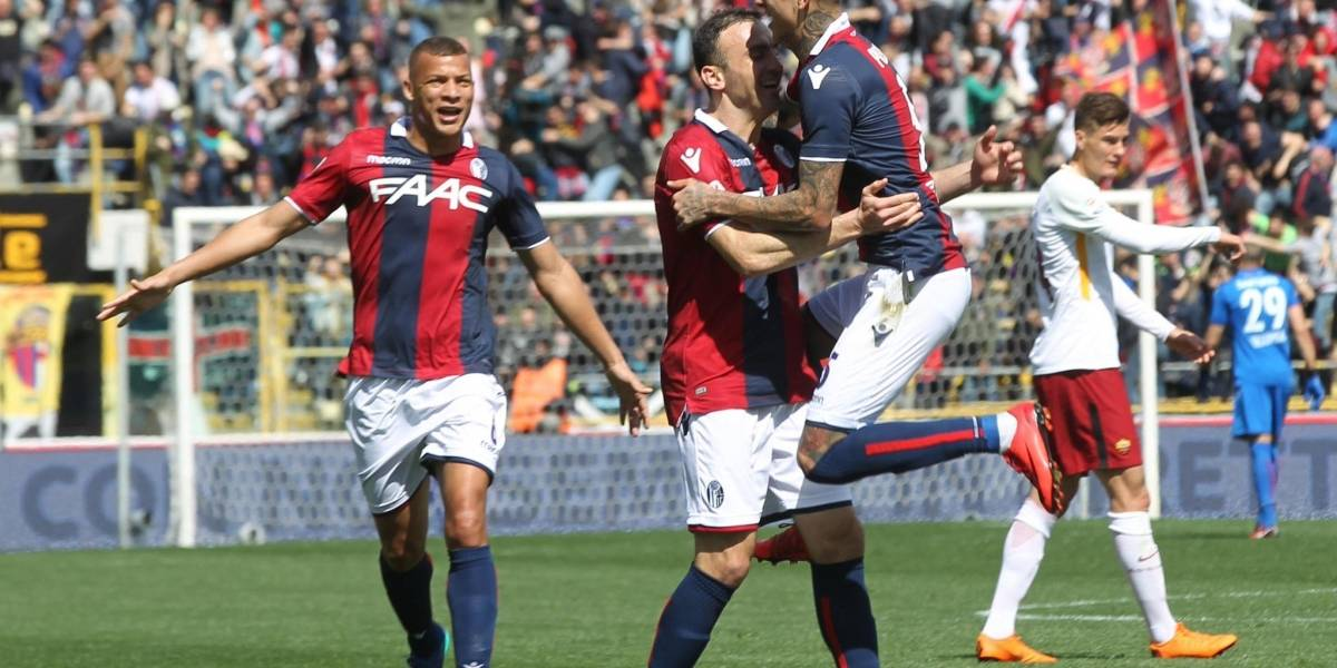 Bologna iguala ante Roma con un golazo desde fuera del área de Erick Pulgar
