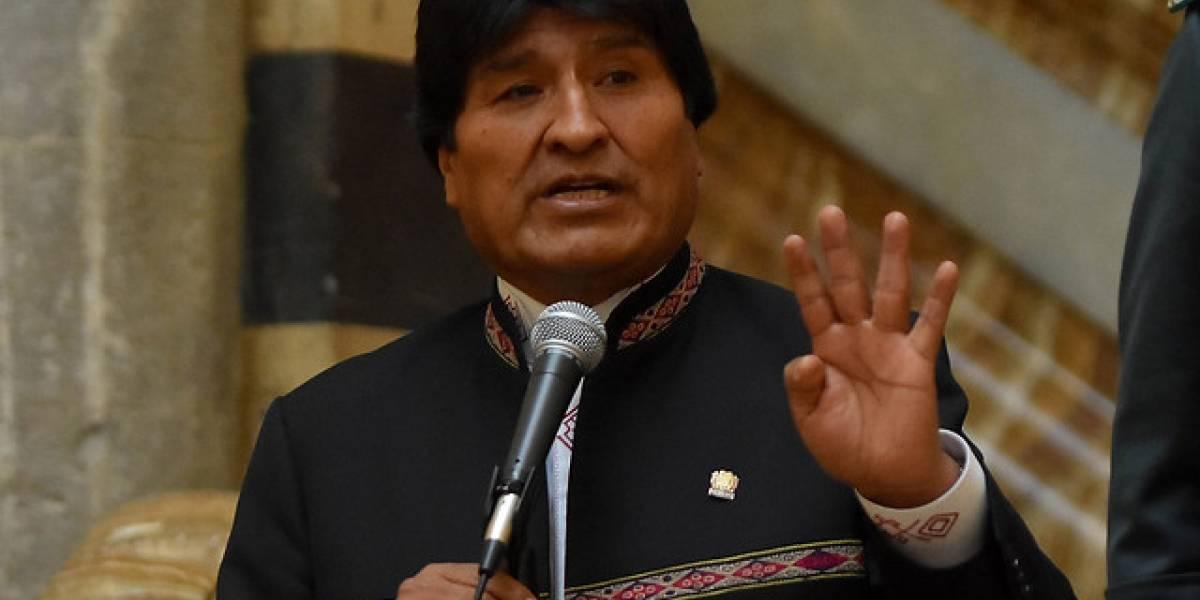 """Evo Morales vuelve a atacar en Twitter: """"Algunos representantes de Chile no tienen argumentos"""""""