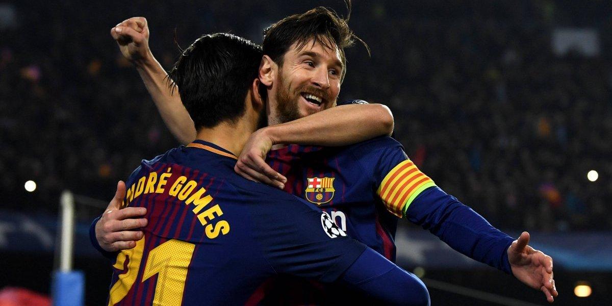 Tras entrenar sin dolores, Messi viajó con Barcelona a Sevilla