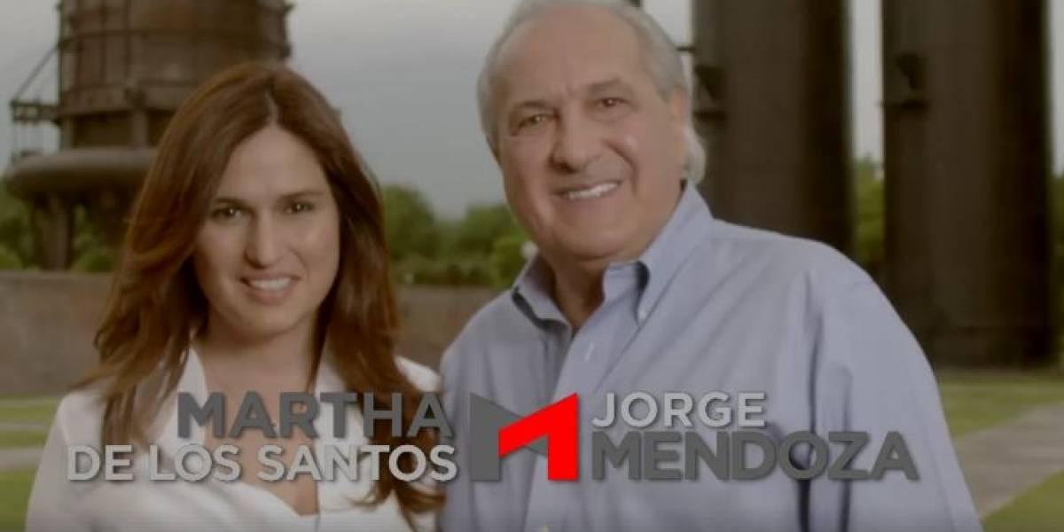 Arranca campaña de Martha de los Santos y Jorge Mendoza en Monterrey