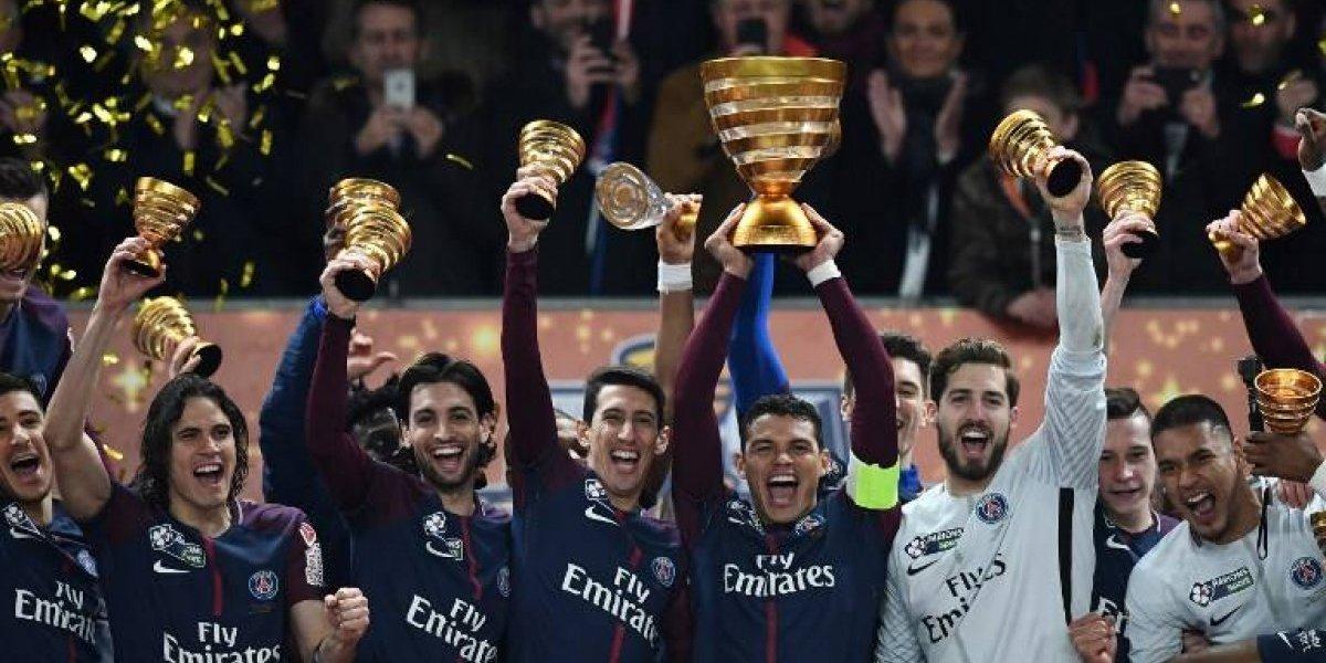 El PSG levanta su primera copa de la temporada sin Neymar
