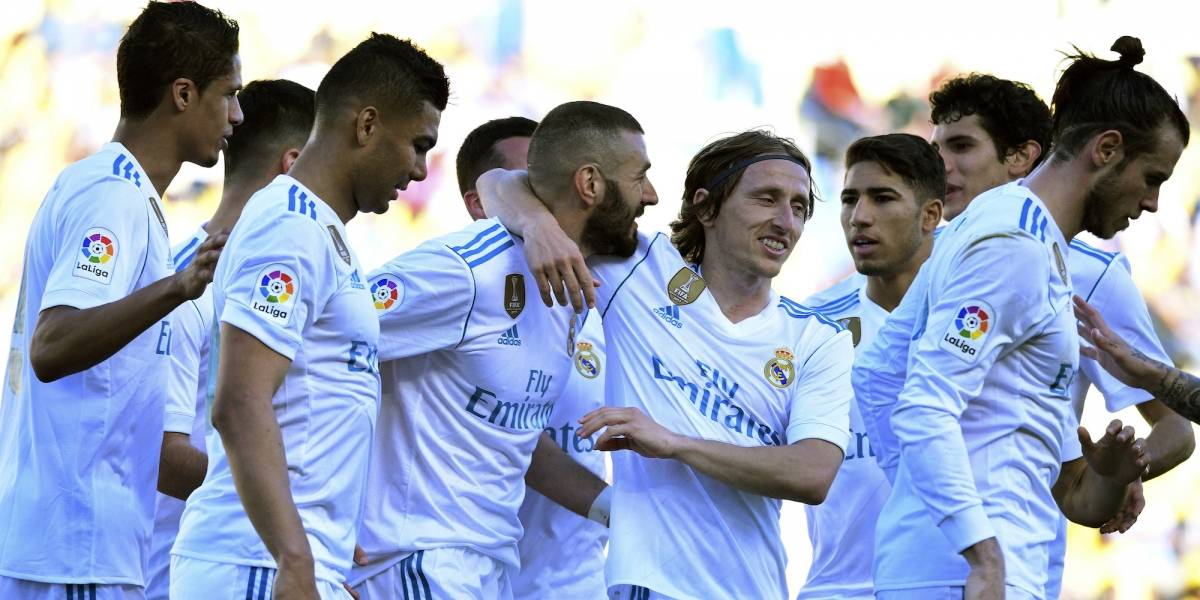 Real Madrid no tuvo piedad con Paco Jeméz y sus Palmas