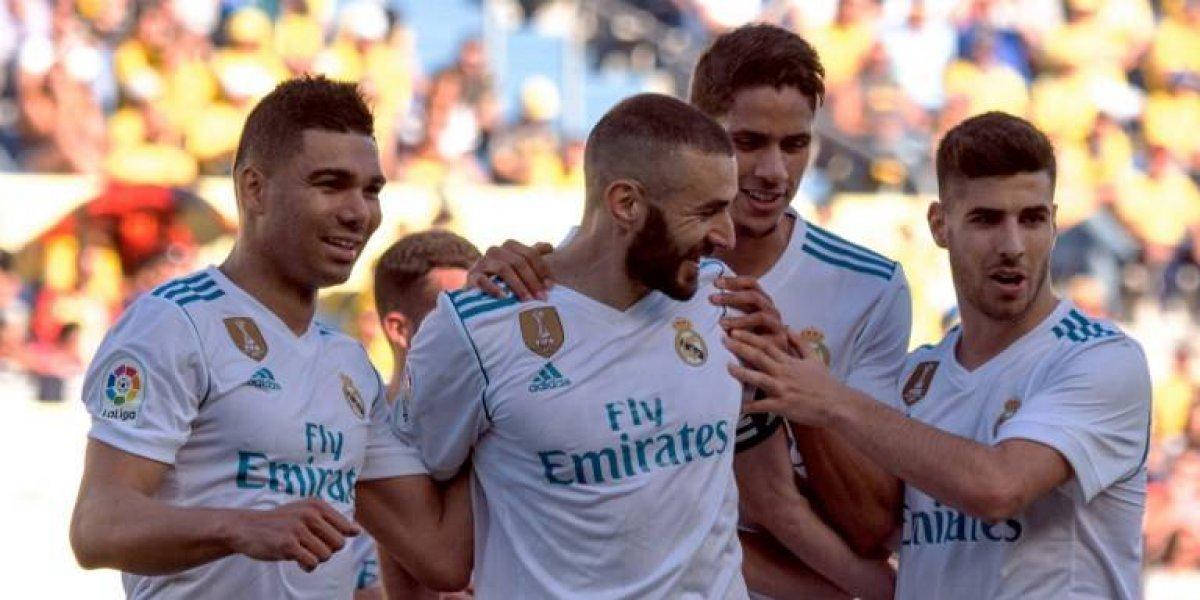 El Real Madrid hace una fiesta blanca en Las Palmas