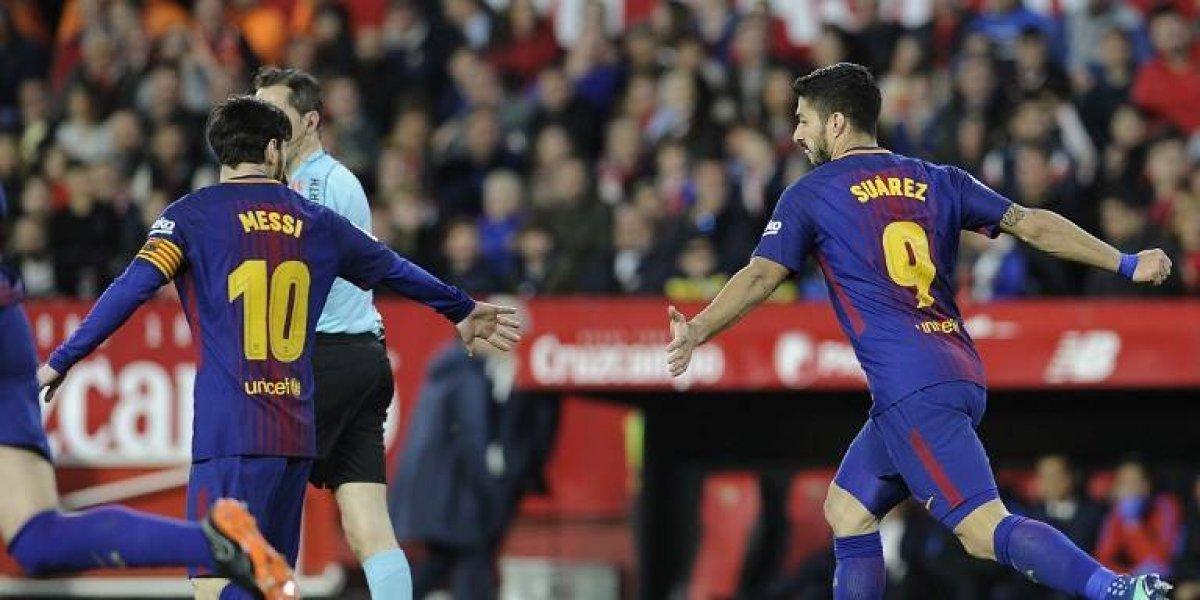 El Sevilla perdona y en un minuto el Barcelona rescata el empate
