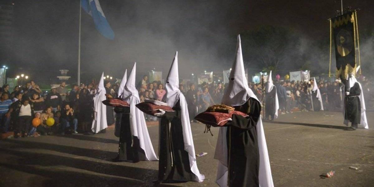 Recorridos de las procesiones del Señor Sepultado de San Francisco, Santa Catalina y San Sebastián