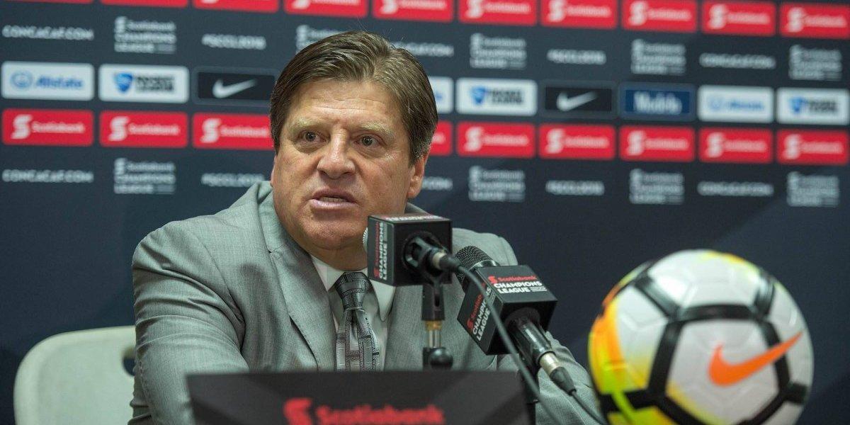 Miguel Herrera se saborea una final contra Chivas