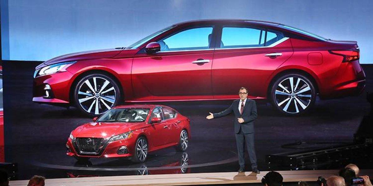 Nissan revela el nuevo Altima 2019