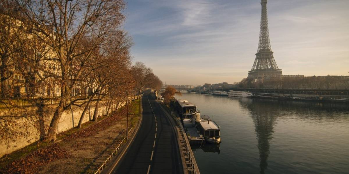 Cierran la Torre Eiffel por pandemia de coronavirus