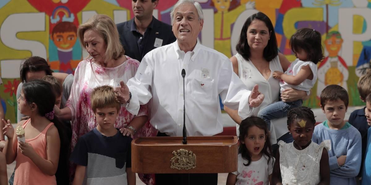 """Piñera por acuerdo nacional Los Niños Primero: """"Necesitamos el apoyo de todos los partidos políticos"""""""
