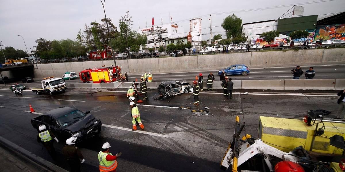 Fatal accidente en Ruta 5 Norte deja a dos niños muertos