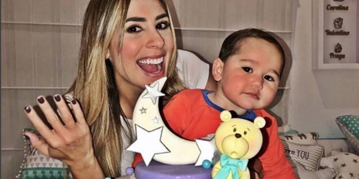 Carolina Soto pasa un mal momento, debido a su hijo enfermo