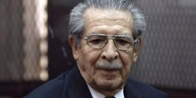 Ríos Montt fue un polémico político militar.