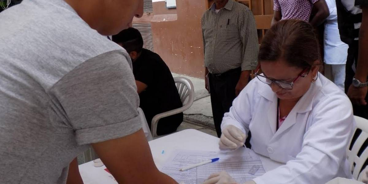 Se practican pruebas gratuitas de VIH en la Isla Trinitaria