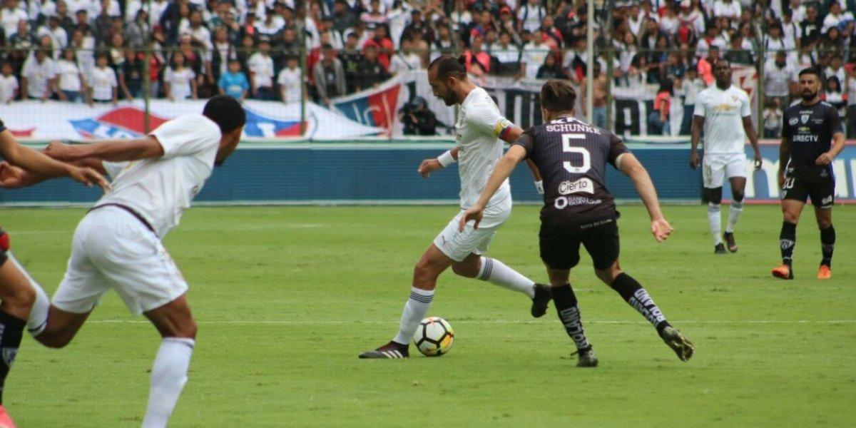 Anangonó permite sumar de tres a Liga de Quito