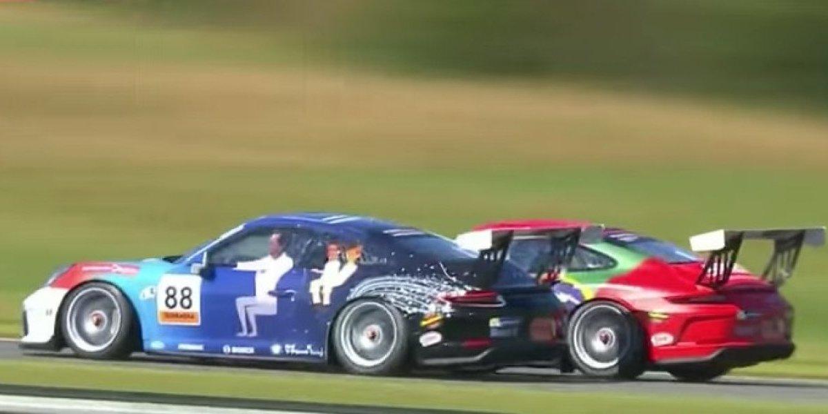 Impresionante accidente en Copa Porsche en Curitiba
