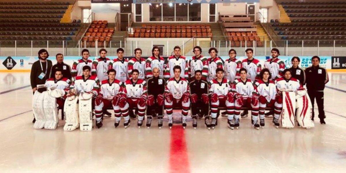 México consigue plata en Mundial Sub 18 de hockey sobre hielo