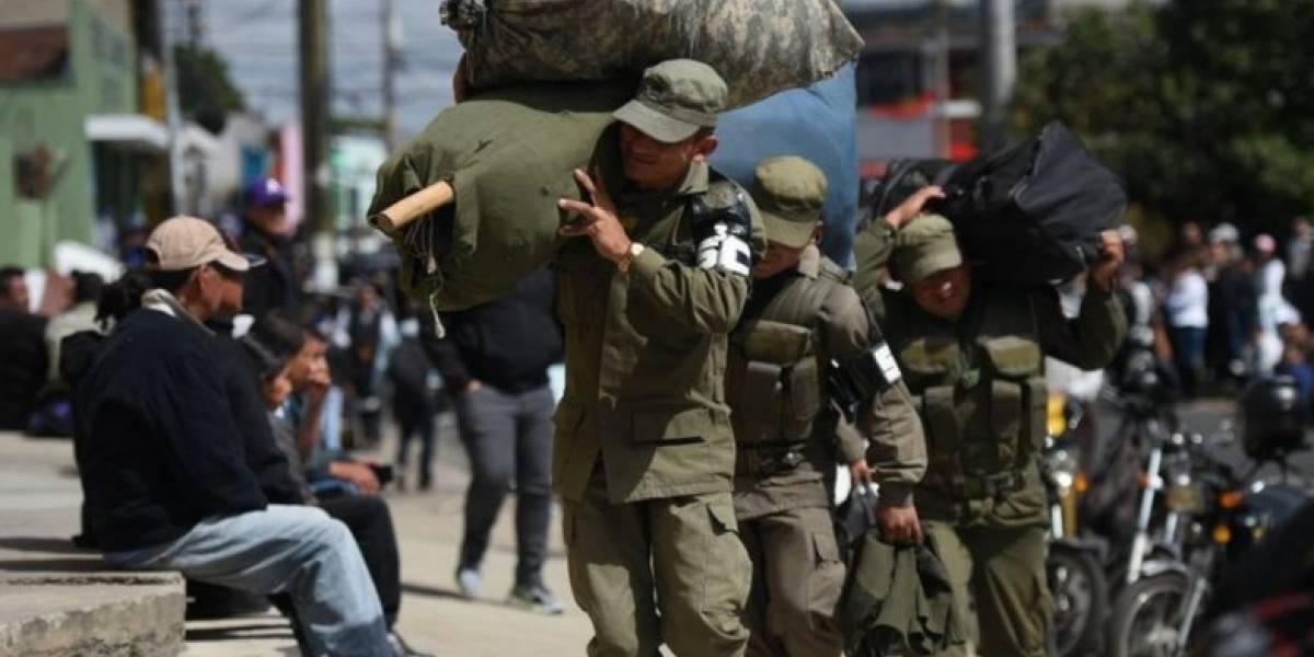 El Ejército se dedicará a reforzar los controles en las fronteras