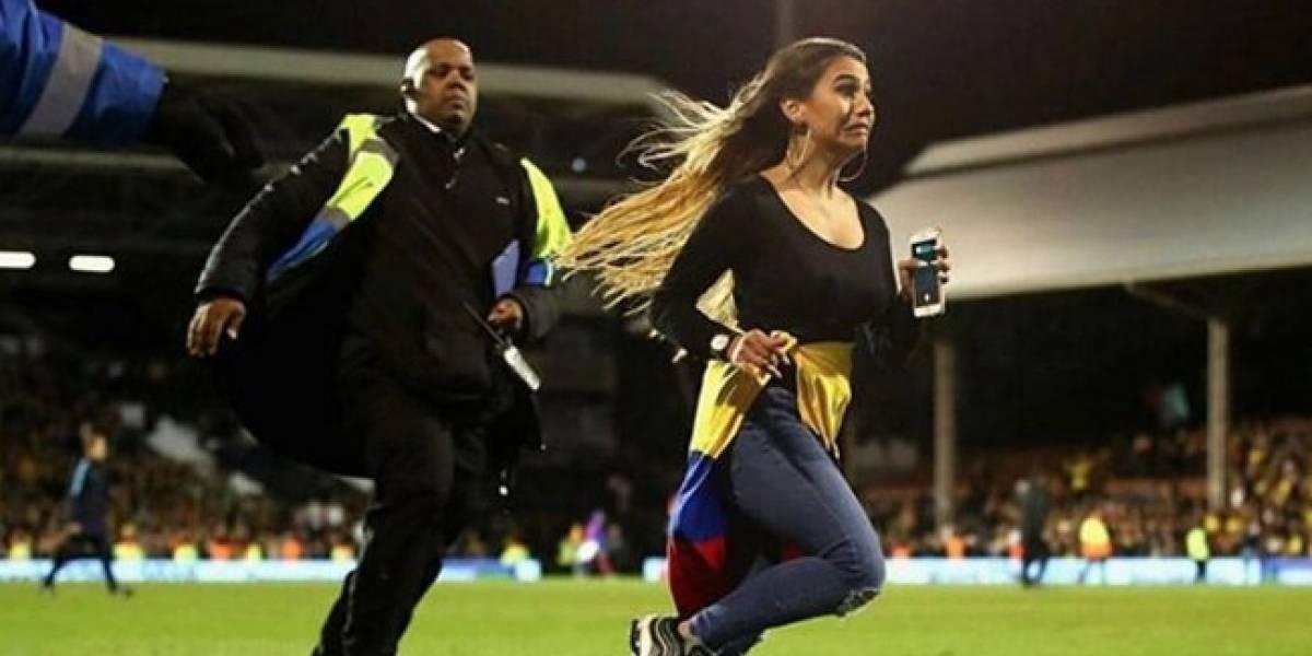 Hincha enloquecida en partido de Colombia tiene antecedentes similares