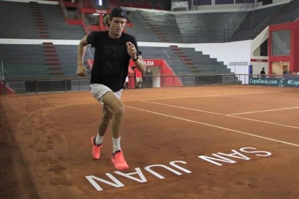 Copa Davis: Nicolás Kicker abrirá ante Nicolás Jarry la serie Argentina-Chile