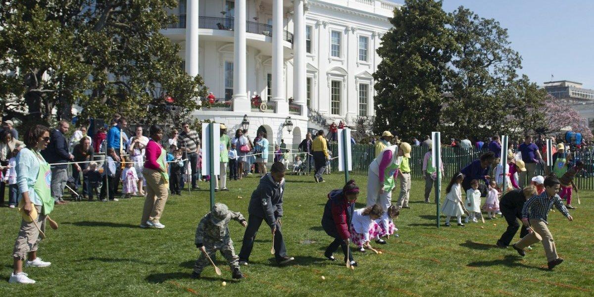 Casa Blanca: Todo listo para la 140 edición de la Carrera anual de los huevos de Pascua