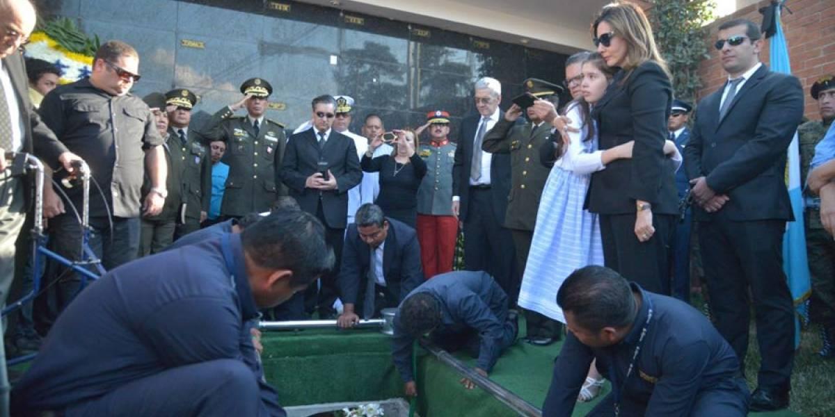 Así se despidieron del general José Efraín Ríos Montt