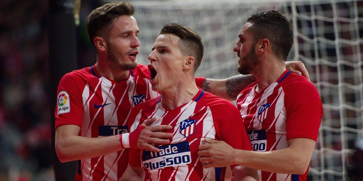 Atlético de Madrid derrota al Deportivo con dudoso penal