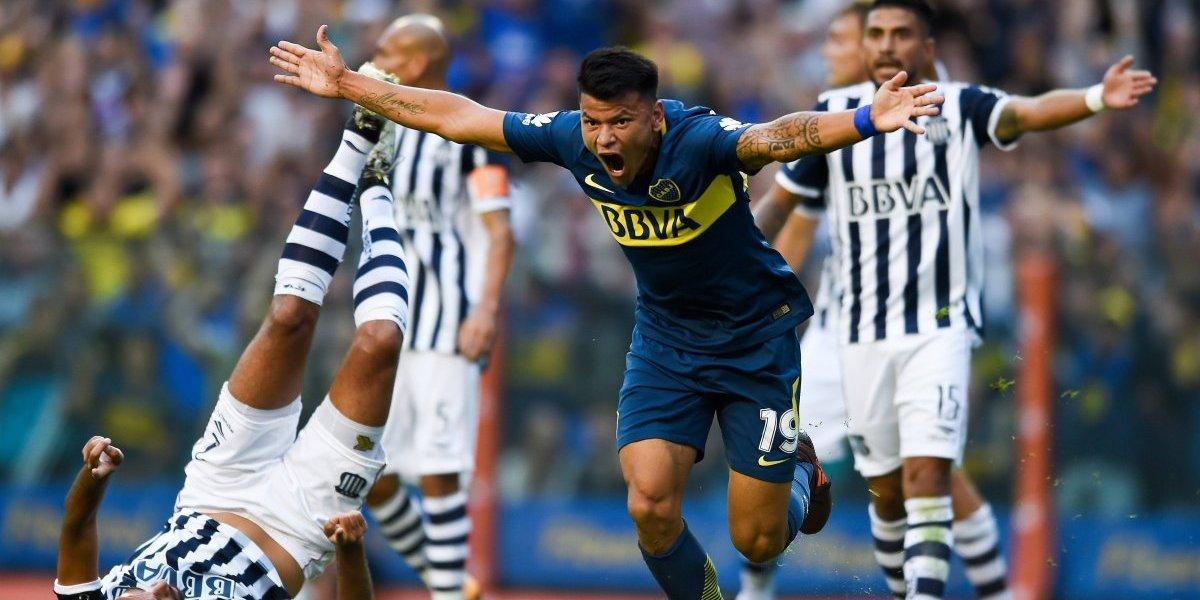 Boca Juniors consiguió un agónico triunfo ante Talleres y se acerca al título en Argentina
