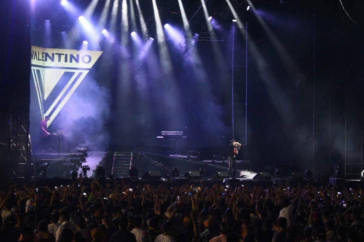 Nicky Jam se presentó en el Puerto San José para el segundo concierto de la Gira Refrescante Pepsi 2018. Foto: Douglas Suruy