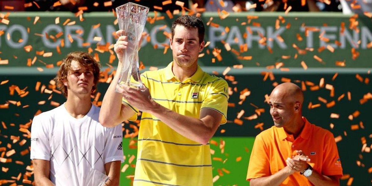 John Isner vino de atrás para coronarse en el Miami Open